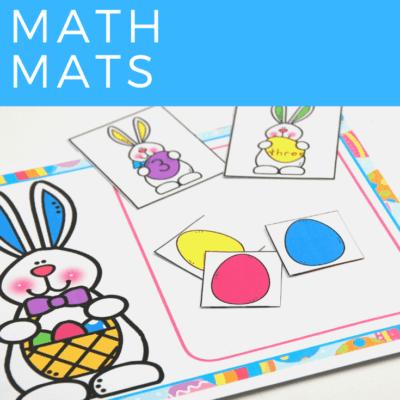 Easter Egg Math Mats