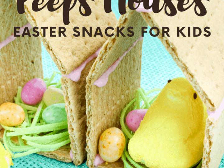 Peeps Preschool Easter Snack
