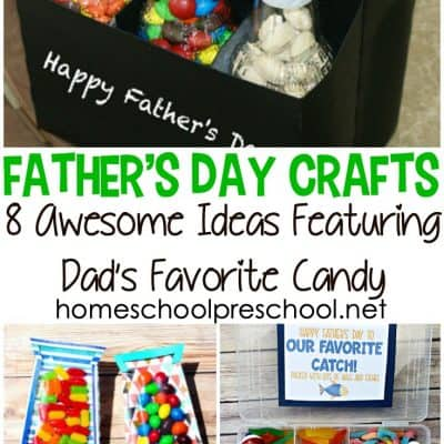 Fathers Day Craft Ideas Featuring Candy