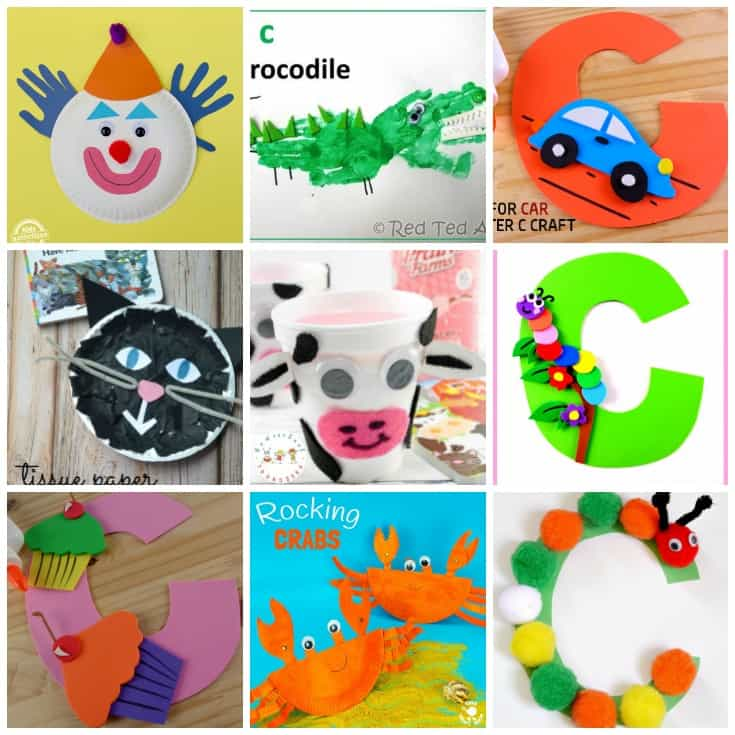 You're not going to want to miss this amazing collection of crafts to teach Letter C! They're perfect for your upcoming Letter of the Week activities!