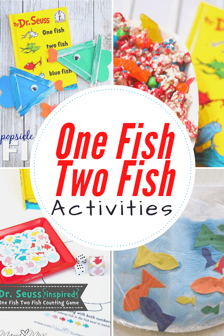 Discover fifteen hands-on One Fish Two Fish printables and activities to use alongside the Dr. Seuss book. Your preschoolers will love them!