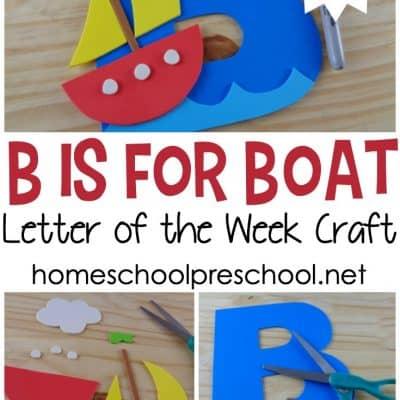 Preschool Boat Craft