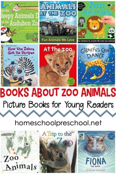These preschool books about zoo animals are perfect for your little ones! Prepare them for a trip to the zoo or just read about their favorite animals.