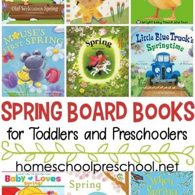 Spring Books for Toddlers