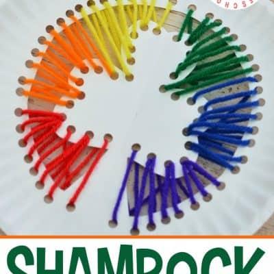 St Patricks Preschool Shamrock Craft