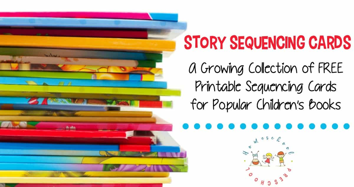 Story sequencing cards help kids order story events as they retell the story. These free printable sequencing cards are a great tool to have on hand!