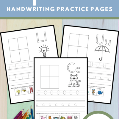 Free ABC Handwriting Practice Pages