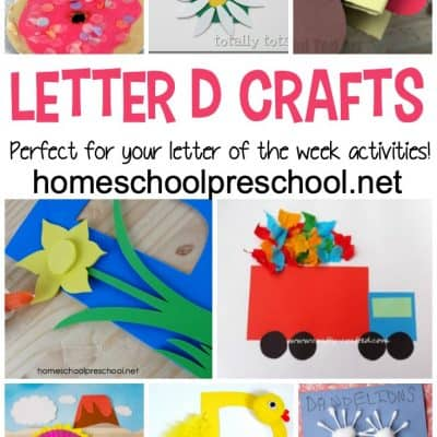 Letter of the Week: Crafts to Teach Letter D