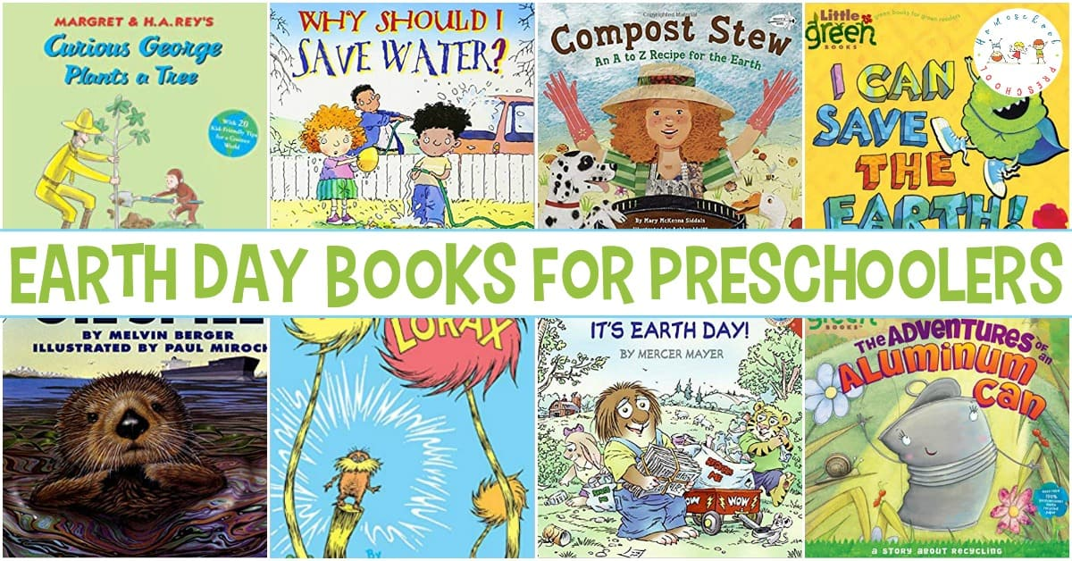 This list of Earth Day books for preschoolers is perfect for helping your little ones learn more about and celebrate Earth Day!