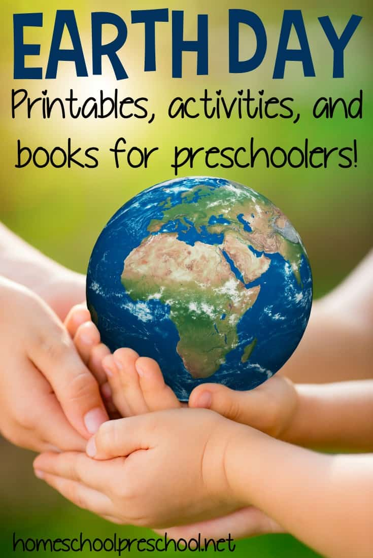 Don't miss this amazing collection of Earth Day preschool activities! You'll find printables, books, service project ideas, and more.