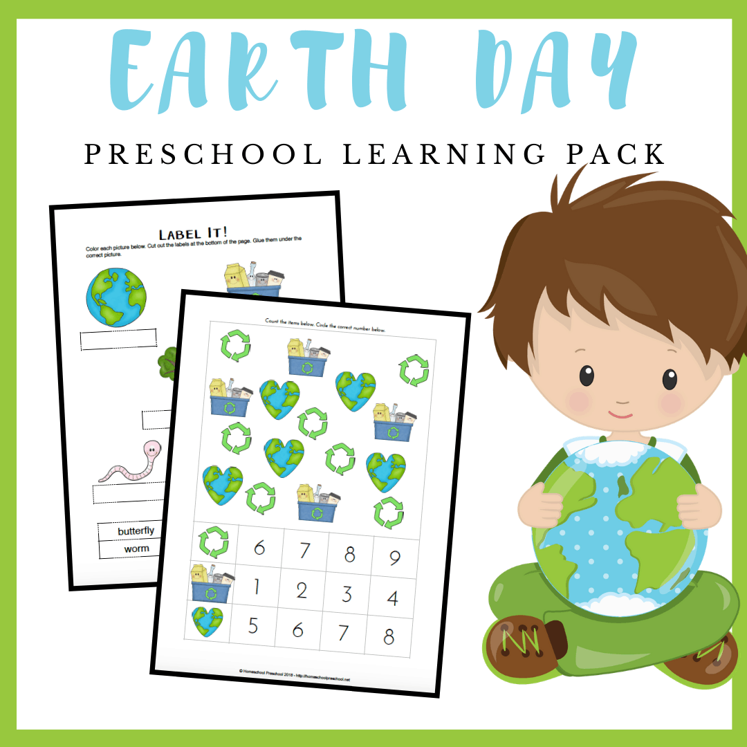 Enhance your Earth Day preschool celebrations with this mini-learning pack. Add these Earth Day worksheets for preschool to your upcoming lessons.