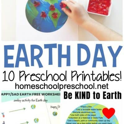 Earth Day Worksheets for Preschoolers