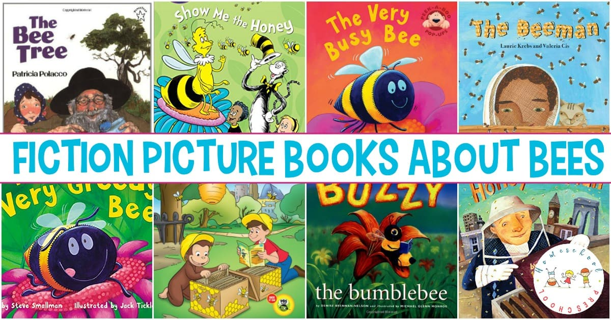 Fill your spring and summer book basket with this wonderful collection of fiction books about bees. They're perfect for young readers!
