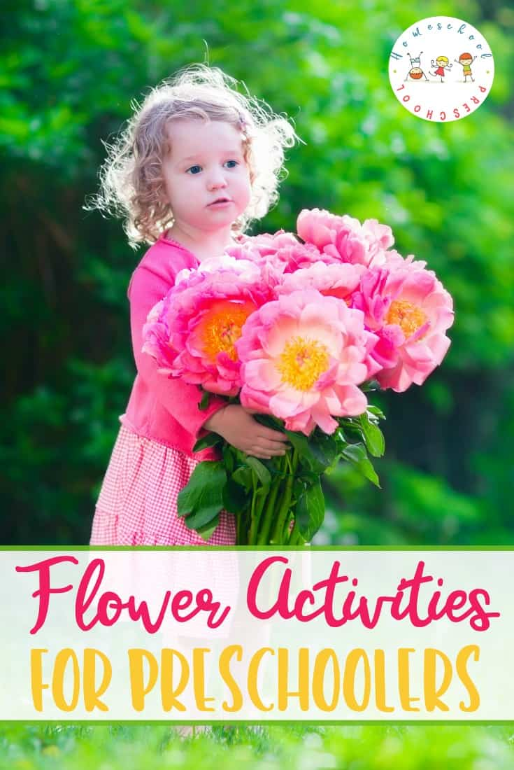 Spring and summer are the perfect time for F is for Flower preschool activities! Come discover life cycles, crafts, books, printables, and more!