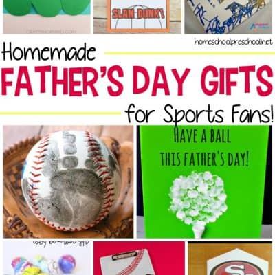 Homemade Fathers Day Gifts for Sports Fans