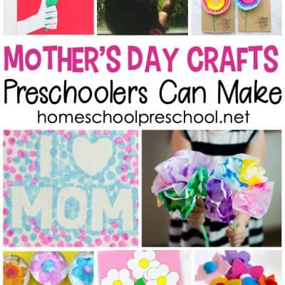Mothers Day Crafts Preschoolers Can Make