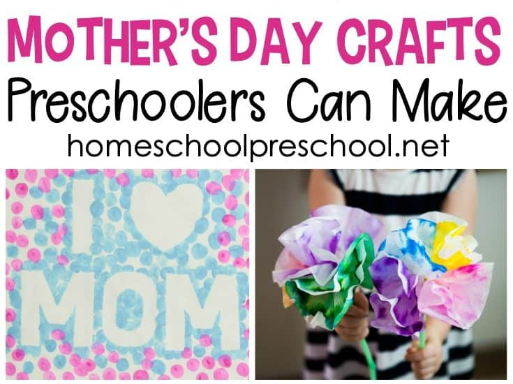 Show Mom a little love with one or more of these Mothers Day gifts preschoolers can make. There are 25 creative ideas to choose from.