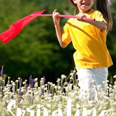 Outdoor Preschool Activities for Spring