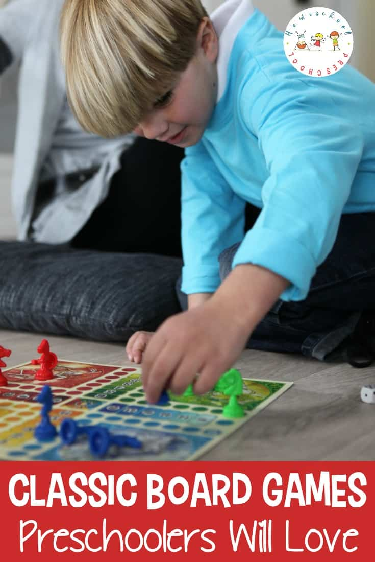 Find a new twist on an old classic with this list of our favorite preschool board games. Games teach little ones patience, logic, and more!