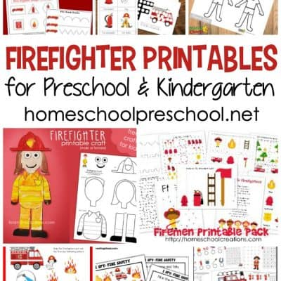 Free Firefighter Printables