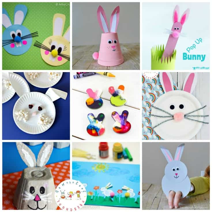 25 Really Cute Rabbit Crafts For Preschoolers