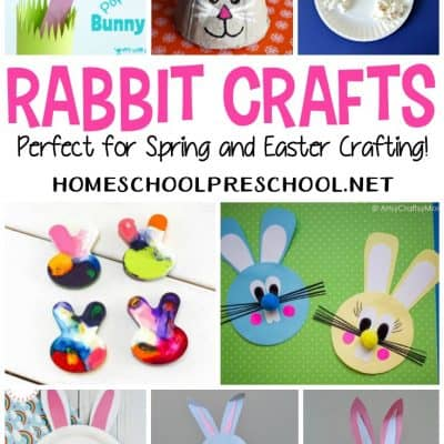 Rabbit Crafts for Preschoolers