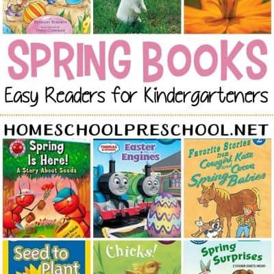 Spring Books for Kindergarten