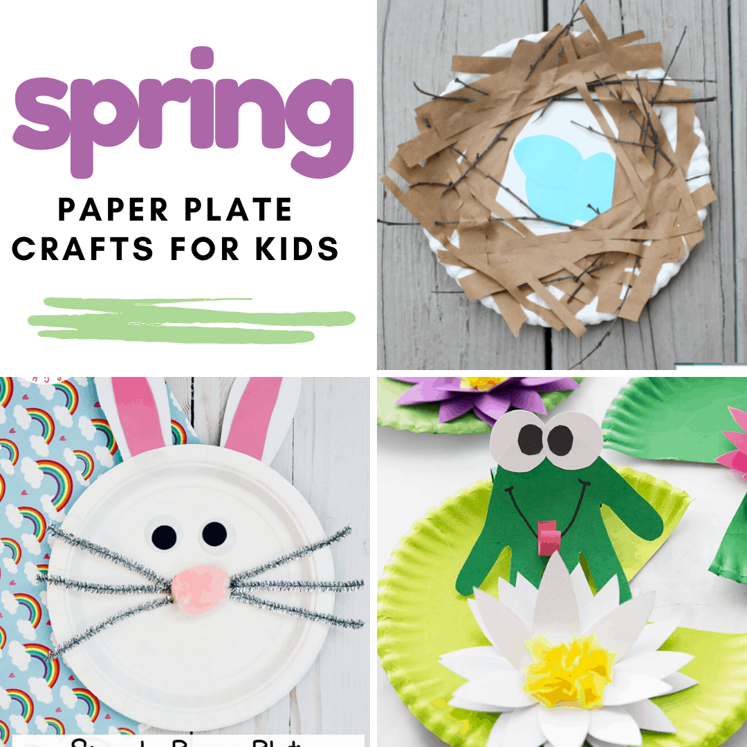 Don't miss this amazing collection of spring paper plate crafts! With over 50 paper plate crafts to choose from, you'll never run out of ideas!