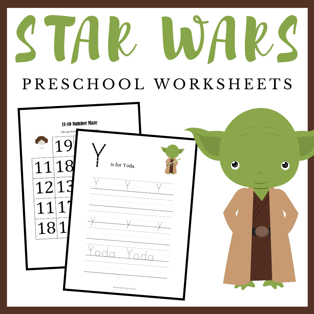 Star Wars fans will celebrate Star Wars Day on May 4. Engage your young learners with a Star Wars preschool math and literacy pack.