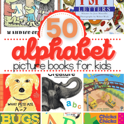 Alphabet Books for Preschoolers
