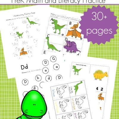 Dinosaur Printable Activities