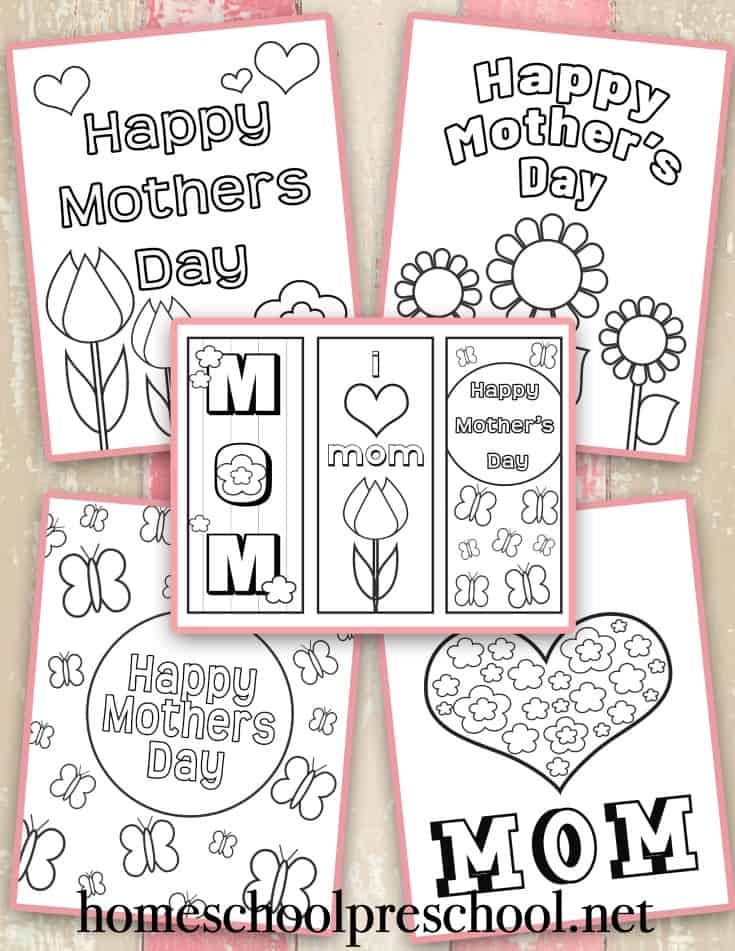 - Free Printable Mothers Day Coloring Pages And Bookmarks
