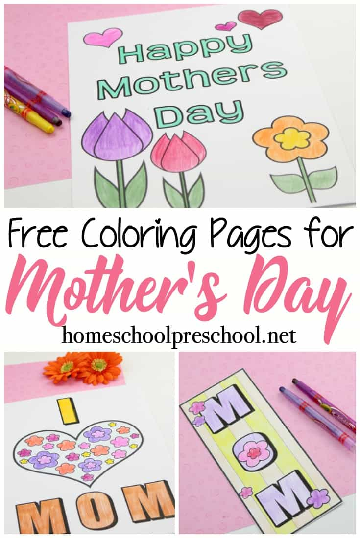 picture regarding Printable Mothers Day Pictures identify Free of charge Printable Moms Working day Coloring Web pages and Bookmarks