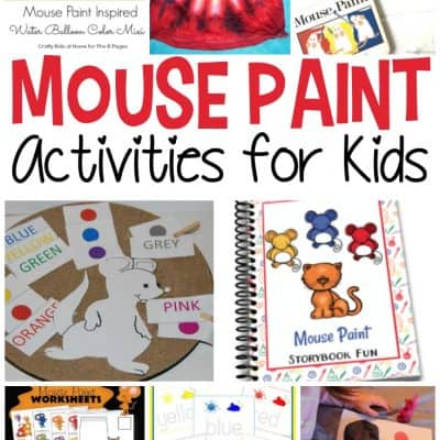 Mouse Paint Activities for Kids
