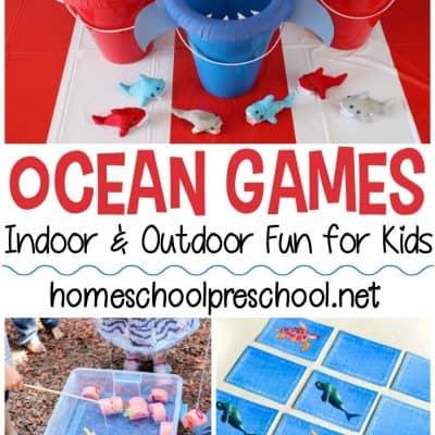 Ocean Themed Games for Kids