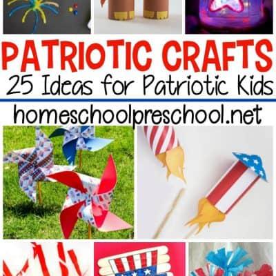 Patriotic Crafts For Preschoolers