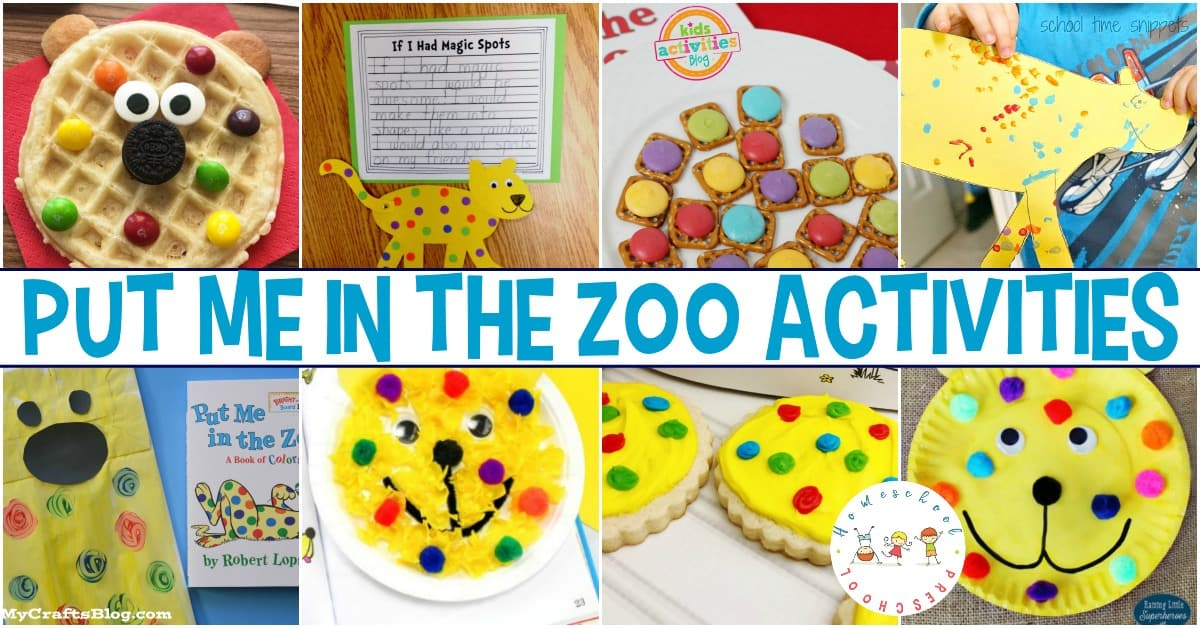 Put Me in the Zoo activities for kids are perfect for bringing this Dr. Seuss favorite to life! Find crafts, worksheets, and snacks for kids!
