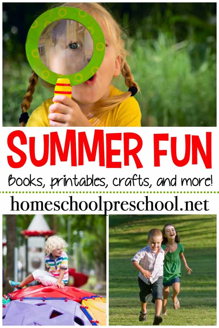 Summer is just around the corner, and you are going to love this amazing collection of summer activities for preschoolers!