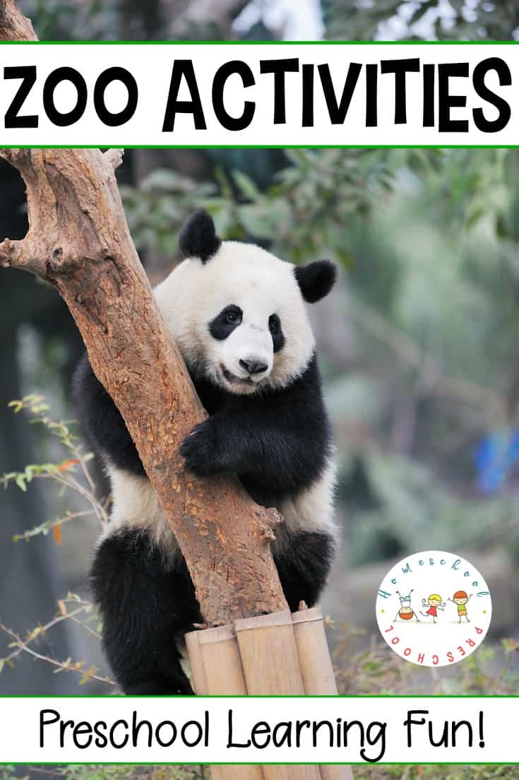 Your kids will be roaring over these preschool zoo theme activities! From books and printables to crafts and hands-on fun, don't miss these awesome ideas!