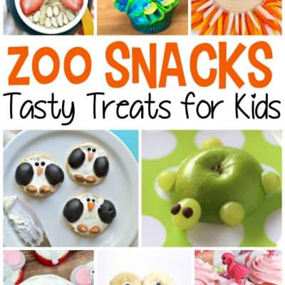 Zoo Snacks For Preschoolers