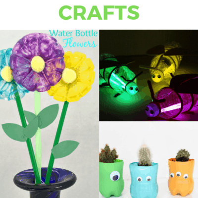 Water Bottle Crafts Kids Can Make