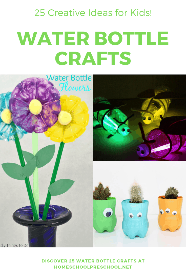 25 Creative Water Bottle Crafts Kids Can Make Today