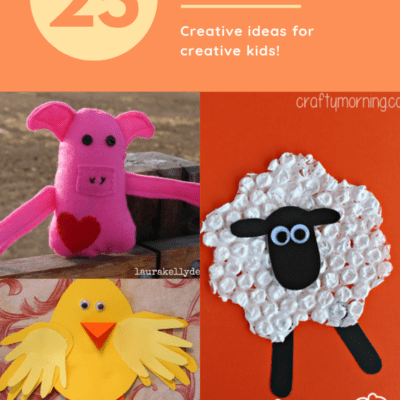 Farm Animal Crafts for Preschool