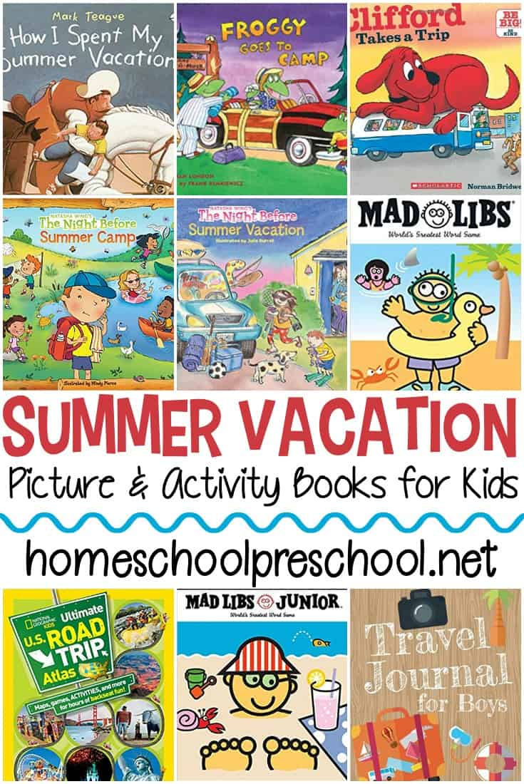 15 Spectacular Summer Vacation Books For Kids