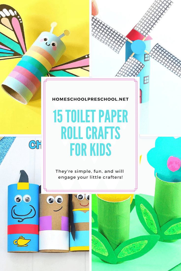 Printable Toilet Paper Roll Crafts For Kids