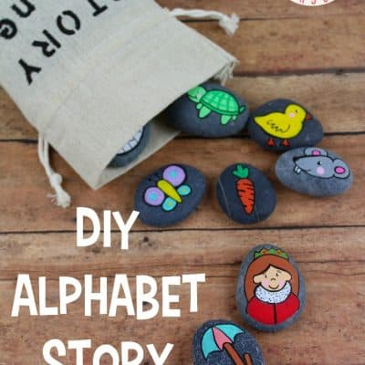 How to Make and Use Alphabet Story Stones