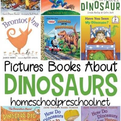 Fiction Dinosaur Books for Preschool