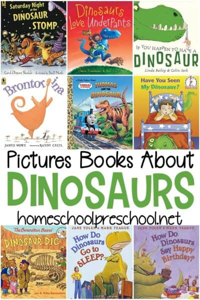 Young dinosaur fans will love these dinosaur books for preschool. These fiction picture books are perfect for engaging young readers.
