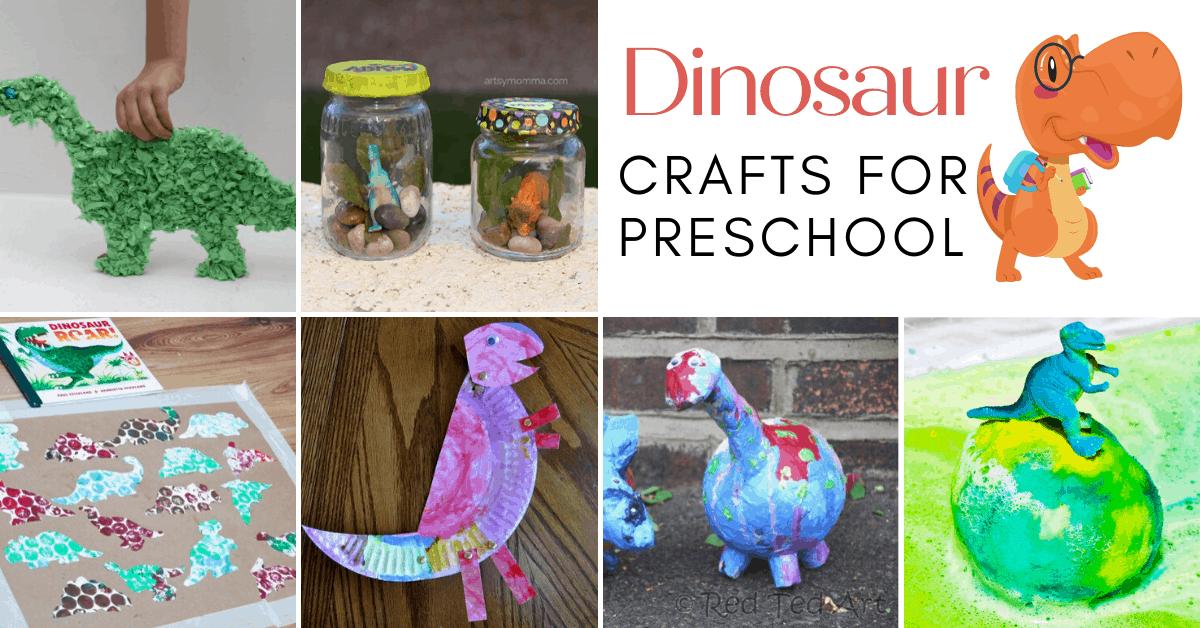 Dino Mite Dinosaur Crafts For Preschoolers To Make