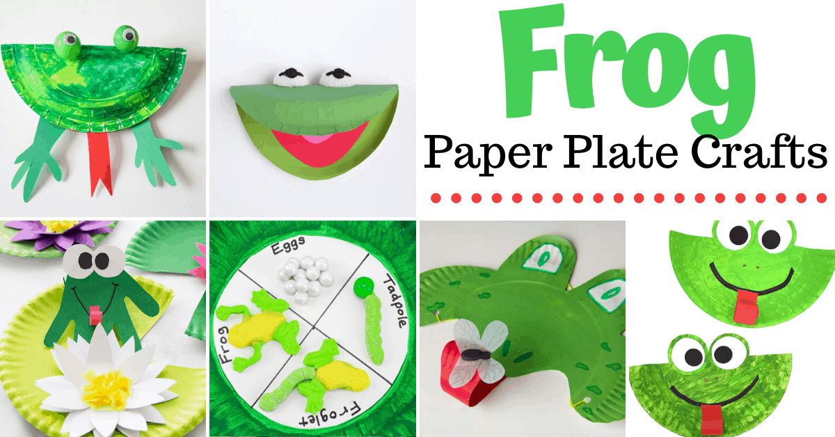 More Than 10 Paper Plate Frog Crafts For Preschool